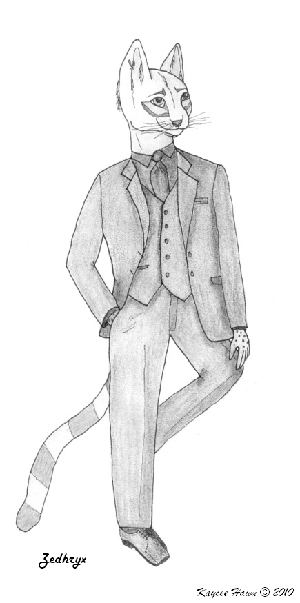 Zed's Tux - Shaded by siscilym