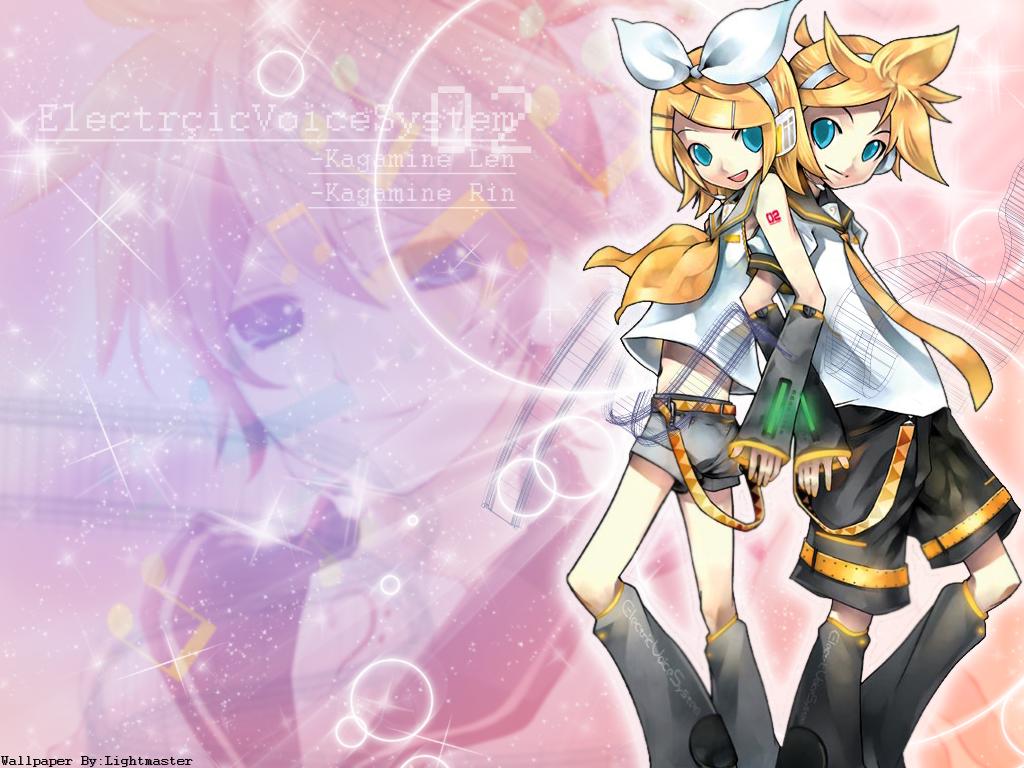 Vocaloid Wallpaper Rin Vocaloid Wallpaper: Le...