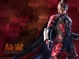 Wallpaper Tekken: Lars by shirotsuki-hack