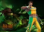 Wallpaper Tekken: Eddy Gordo