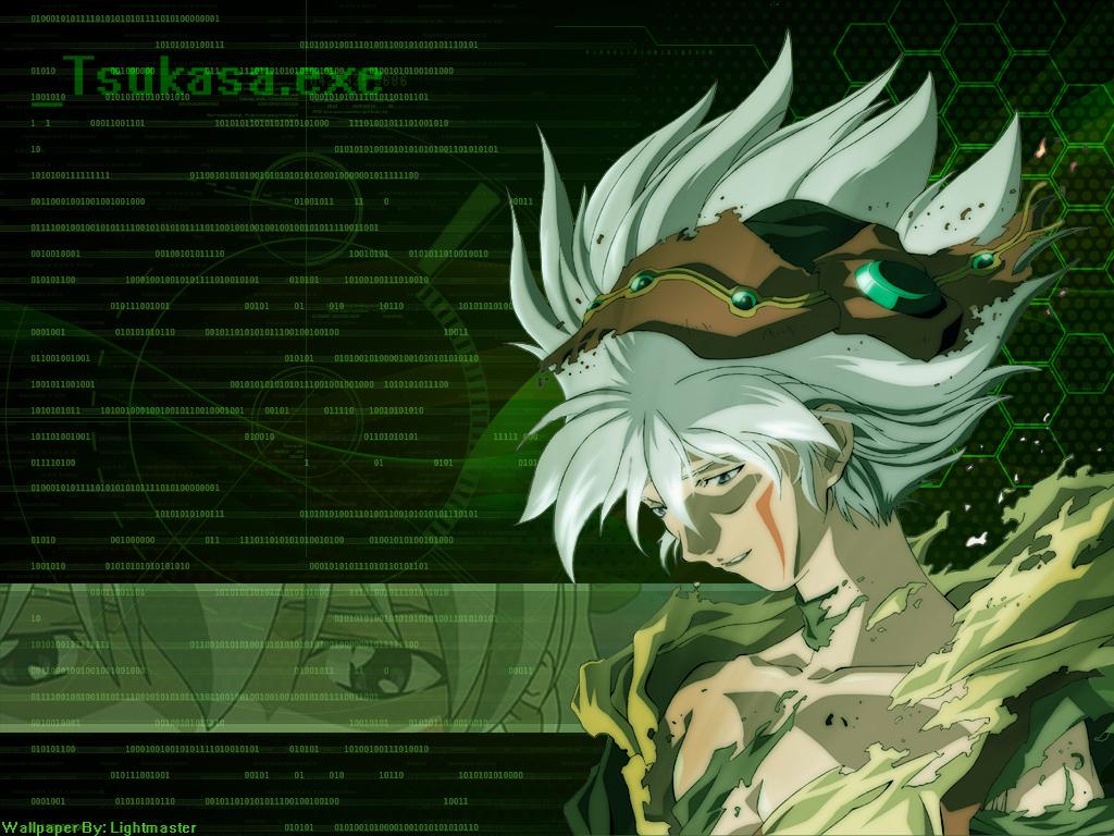 Wallpaper .hack Tsukasa by shirotsuki-hack