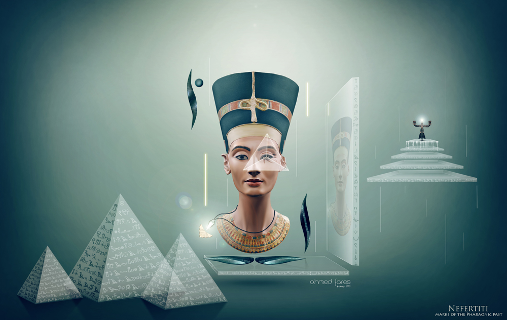 Nefertiti - marks of the Pharaonic past by Ahmed-Fares94 ...