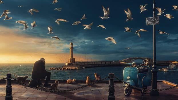 A Fisherman's Tale (Alexandria / Egypt)