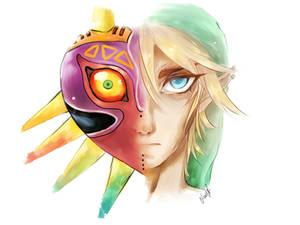 Comm: Link - LoZ Majoras Mask
