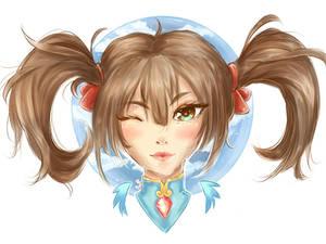 Goddess Jing Wei - Smite