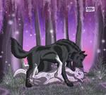 Black and White Love Rhapsody by RUNNINGWOLF-MIRARI