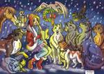 Mirari's Christmas Carol by RUNNINGWOLF-MIRARI