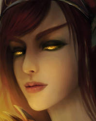 Alextrasza  -- dragon queen