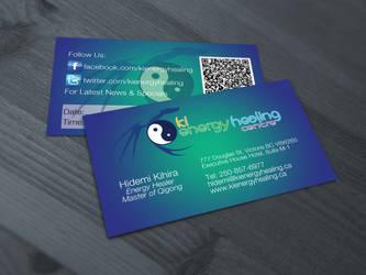 Energy Healing Business Card + Logo by matt94gt