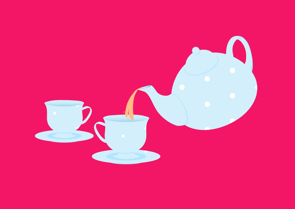 Tea Time by blueskyRose