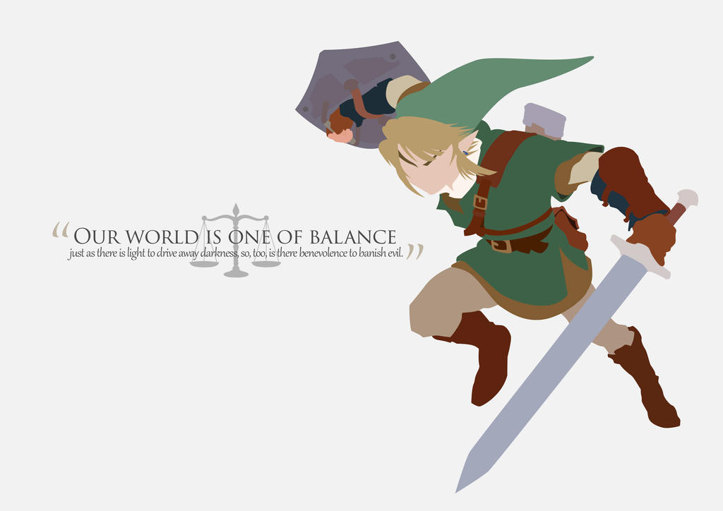 Our World Is One Of Balance by blueskyRose