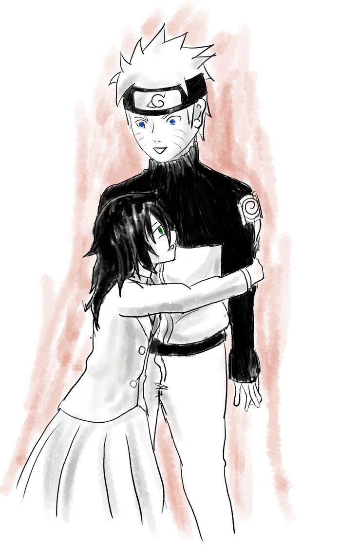 Tomoko se despide de Naruto by secretosycolores