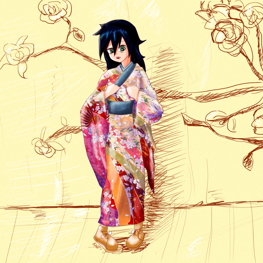 Tomoko Kimono  - QUIGANI by secretosycolores