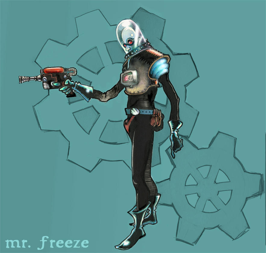 mr. freeze. by pitakow
