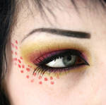 Callow Lily inspired makeup 2