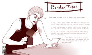 FTM comic: Binder Tips