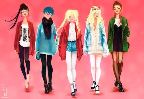Sailors Street Fashion