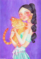 Jasmine and Rajah by SolDevia