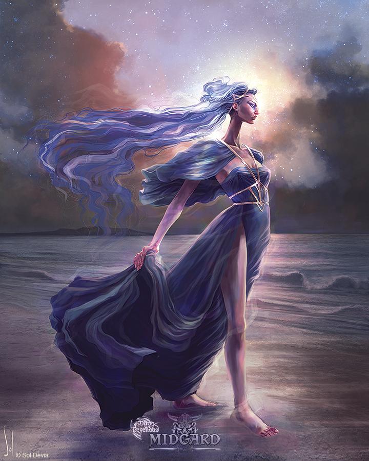 Nehalennia - Mitos y leyendas TCG by SolDevia