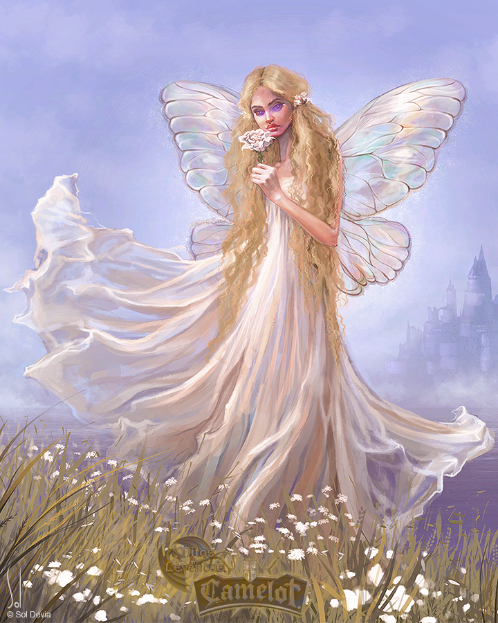Lily from Avalon - Mitos y Leyendas TCG by SolDevia
