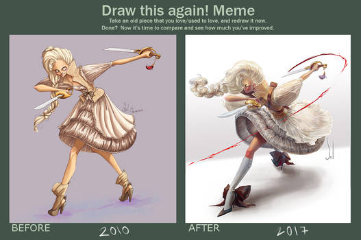 Draw this again! meme - Fatima