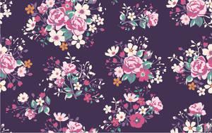 seamless vintage rose pattern by dengwei1361159