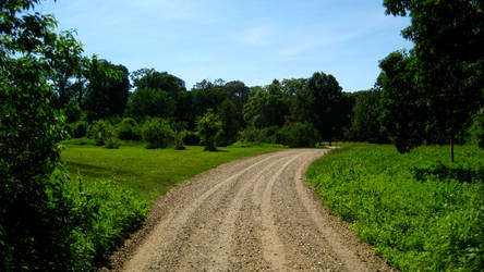 A dusty, yet trodden path. by firestar3590