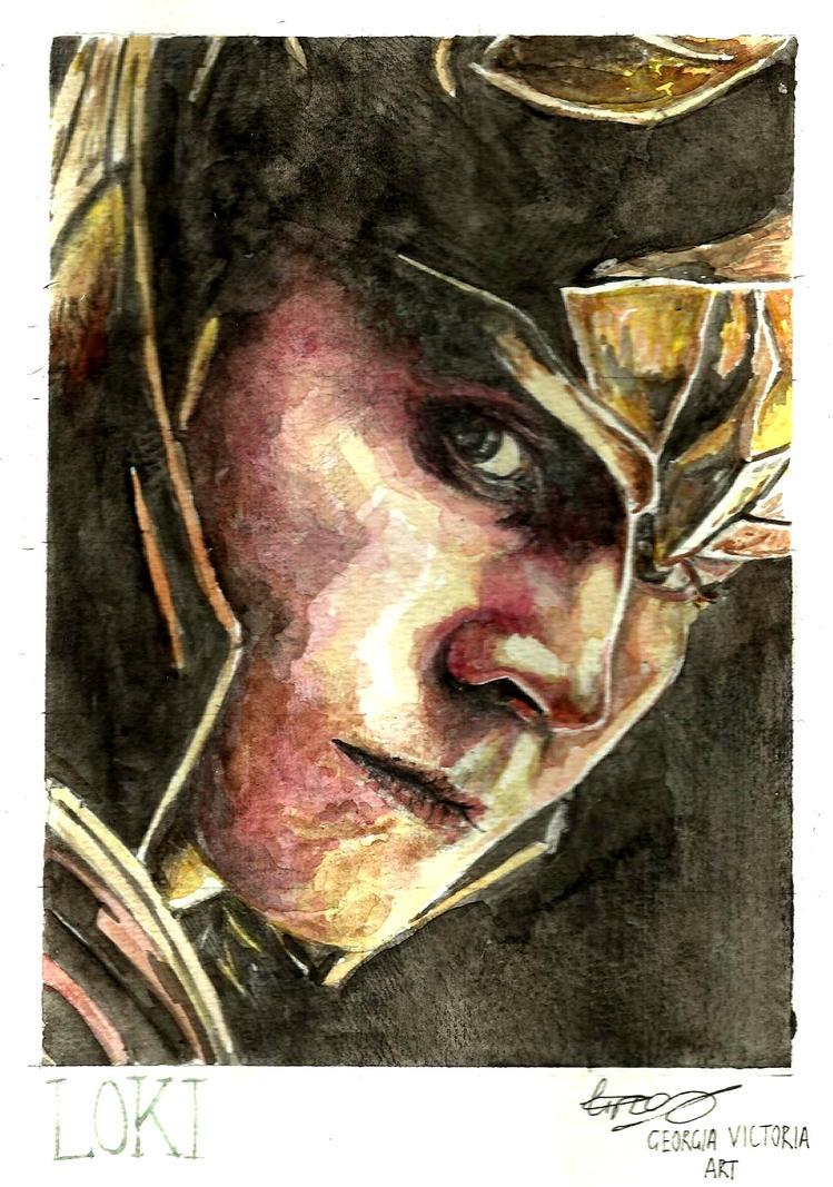 Loki by GeorgiaVictoria