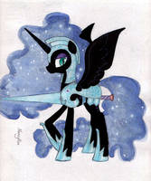 Knightmare Moon by NancyKsu