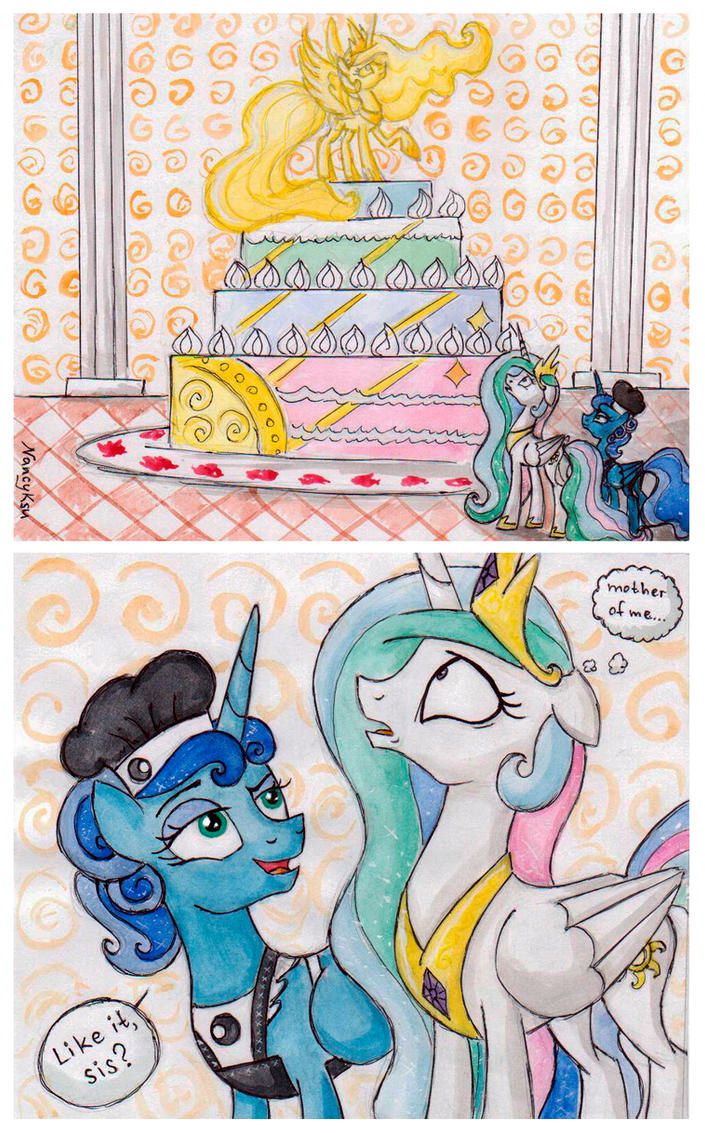 Luna's Unexpected Gift by NancyKsu