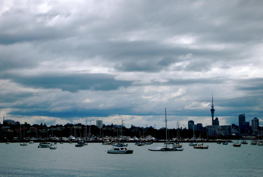 City of Sails Auckland by jacobjellyroll
