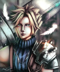 Cloud Strife by yu-karasu