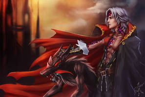Gebel - Bloodstained by yu-karasu