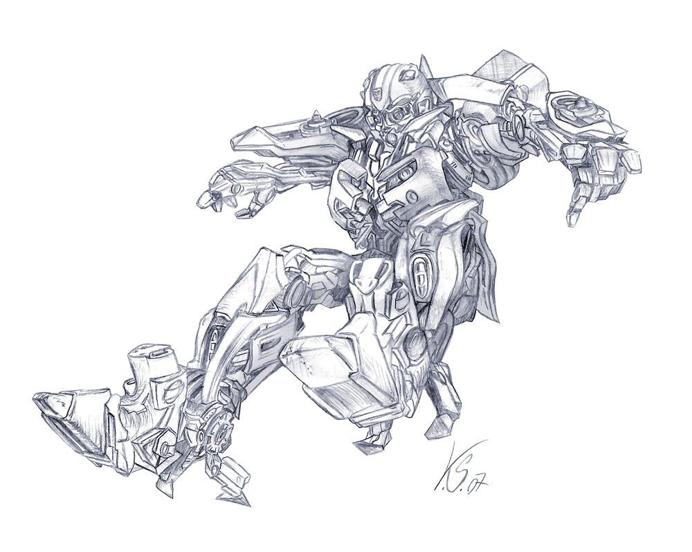 how to draw your own transformer