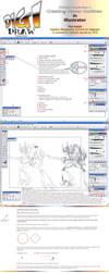 Vector Outlines TUTORIAL by suzidragonlady