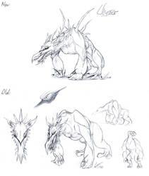 Ulysses - Character Concept by suzidragonlady