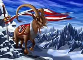 Lord Of The Alps by suzidragonlady