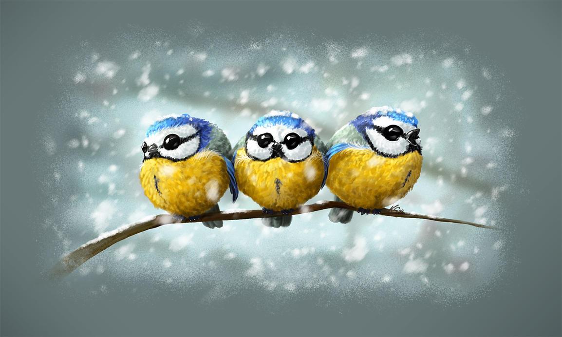 Winter's Song by suzidragonlady