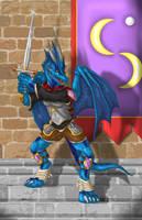 Avalon the Dragonknight by suzidragonlady