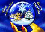 Merry Christmas 2017 by suzidragonlady