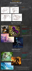 Commissions Price List 2019 - COMMISSIONS CLOSED by suzidragonlady