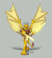 Go... Jedi Dragon by suzidragonlady