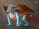 Make-A-Dragon creature by suzidragonlady