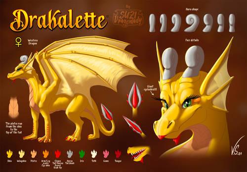 Drakalette - Character Sheet