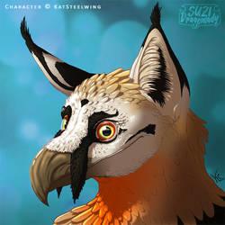 Bearded Vulture Lynx Gryphon - Icon