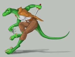 Zed Raptor by suzidragonlady