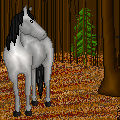 Fall Forest Horse Pixel
