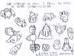 Concept Of Sonic Hands