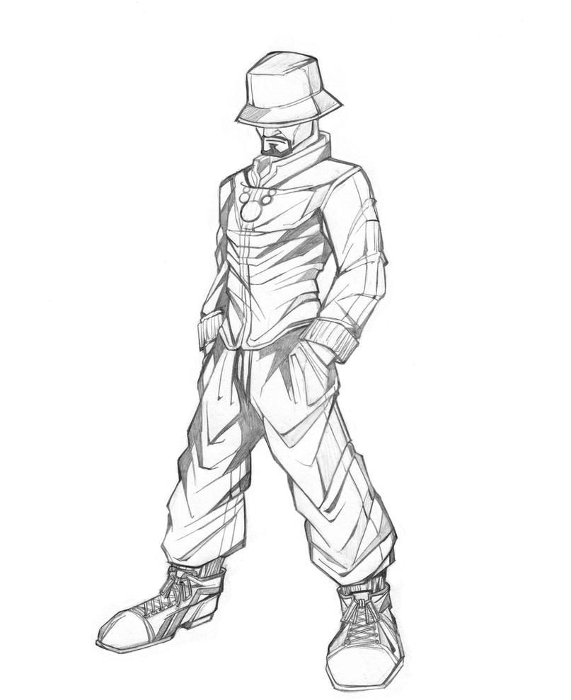 Mixmaster spinsmith sketch by DORMWORLD