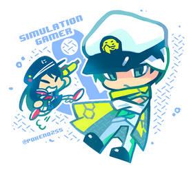 Kamen Rider Snipe Lv50 Simulation Gamer by pokeno255